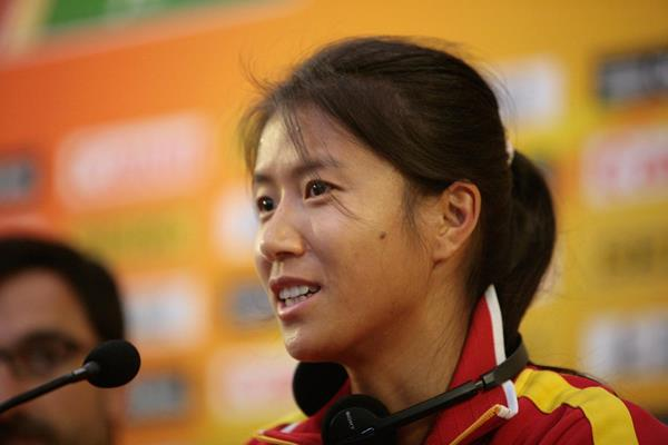 China's Liu Hong at the Taicang 2014 press conference (Getty Images)