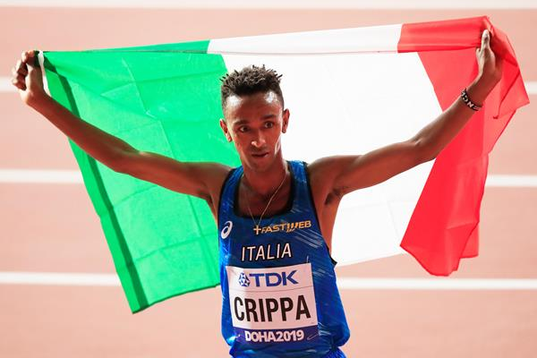 Italian distance runner Yemaneberhan Crippa (Getty Images)