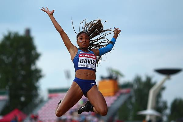 US long jumper Tara Davis (Getty Images)