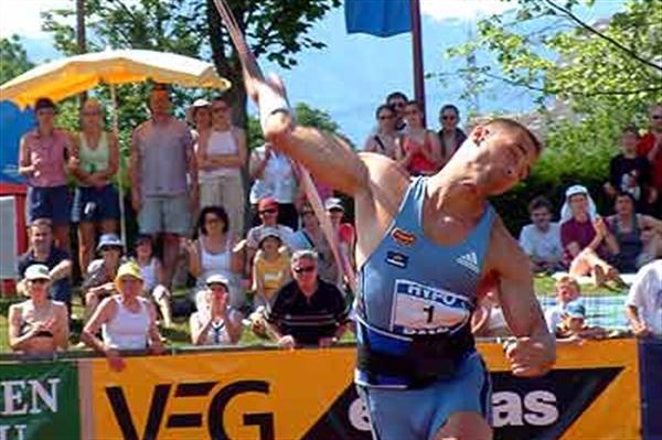 Sebrle wins Javelin in Götzis (IAAF)