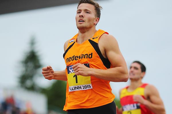 Pieter Braun in the decathlon 1500m at the European Under-23 Championships in Tallinn (Getty Images)