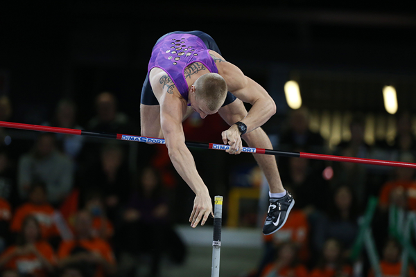 Polish pole vaulter Piotr Lisek (AFP / Getty Images)