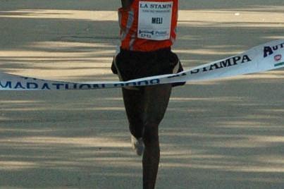 PB victory for Elija Meli Tarus at the Turin Half Marathon (Marathonfoto)