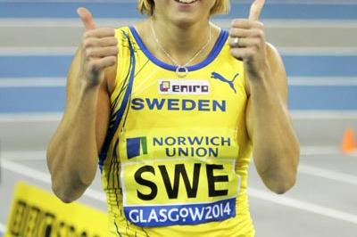 Susanna Kallur was double trouble in Glasgow (Getty Images)