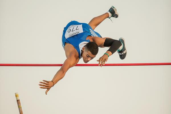 Emmanouil Karalis at the European Athletics Youth Championships (Getty Images)
