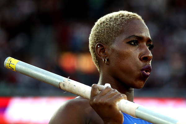Cuban pole vaulter Yarisley Silva at the IAAF World Championships London 2017 (AFP / Getty Images)
