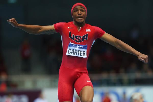 US triple jumper Chris Carter (Getty Images)