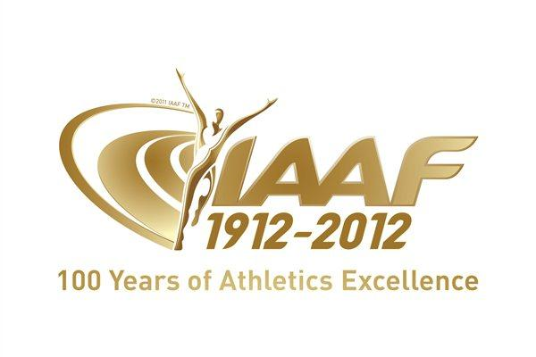 IAAF Centenary Logo and Motto (IAAF)