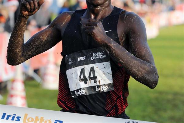 Isiah Koech from Kenya wins in Brussels (Nadia Verhoft)