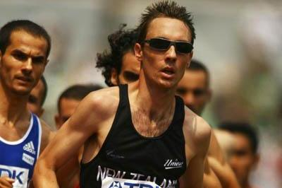 Nicholas Willis of New Zealand in action in the heats of the 1500m (Getty Images)