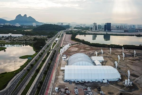 Rio athletes park (Getty Images)
