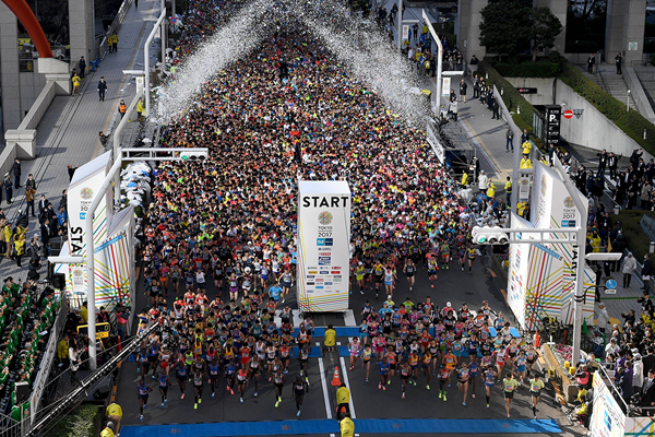 The start of the Tokyo Marathon (AFP / Getty Images)