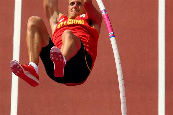Hans Van Alphen of Belgium in action during the Men's Decathlon Pole Vault of the London 2012 Olympic Games  on August 9, 201212 (Getty Images)
