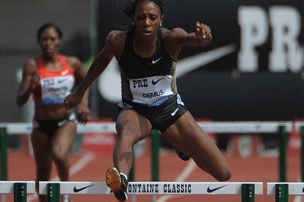 Lashinda Demus dominates in Eugene (Kirby Lee)