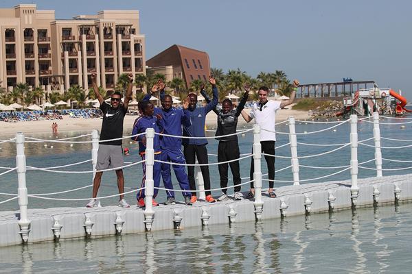 Stars of the 202 Ras Al Khaimah Half Marathon (Giancarlo Colombo)