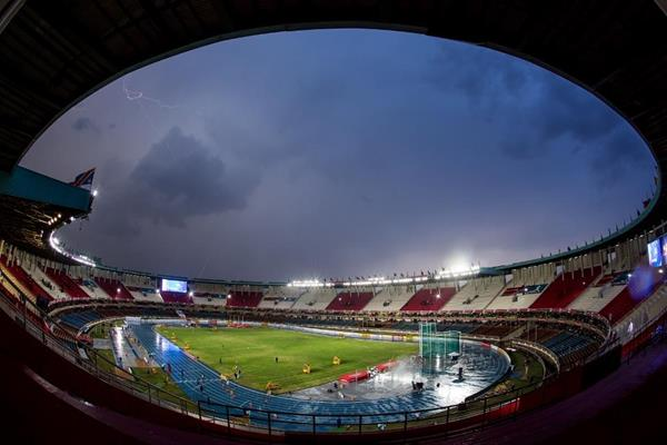 General view of Kasarani Stadium during the IAAF World U18 Championships Nairobi 2017 (Getty Images)