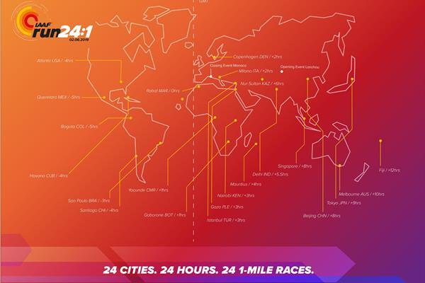 IAAF Run 24-1 map (IAAF)