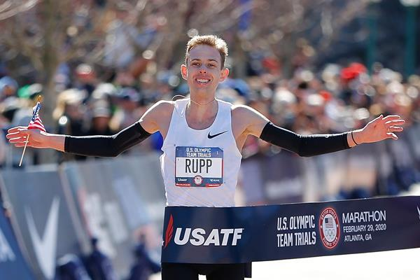 Galen Rupp wins the US Olympic Trials Marathon (Getty Images)