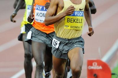 Kenenisa Bekele brings his tally of sub-13-minute 5000m runs to 17, more than any other athlete in history (Getty Images)