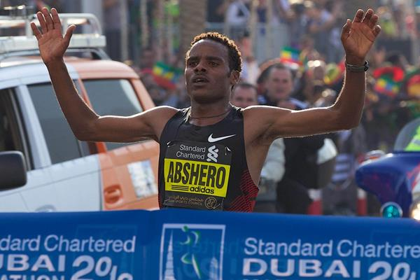 Ayele Abshero debuts with a sizzling 2:04:23 win in Dubai (Organisers)
