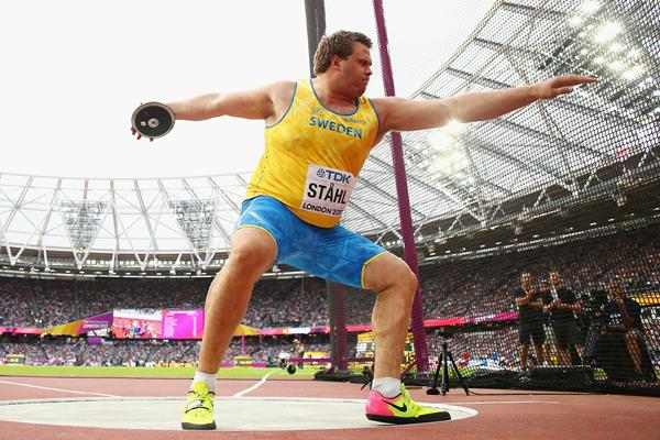 Daniel Stahl in the discus at the IAAF World Championships London 2017 (Getty Images)