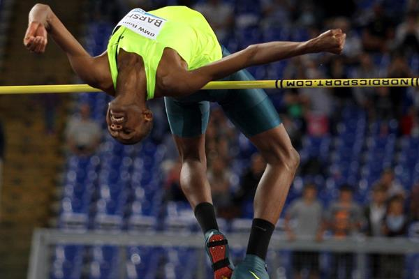 Qatar's Mutaz Essa Barshim, winner of the high jump (Getty Images)