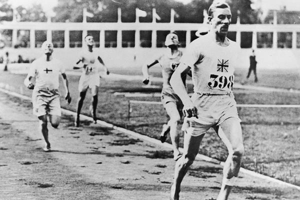 1920 Olympic 800m and 1500m champion Albert Hill (Getty Images)