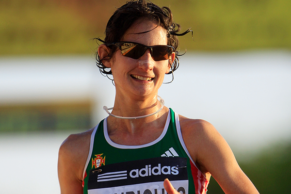 Portuguese race walker Ines Henriques (Getty Images)