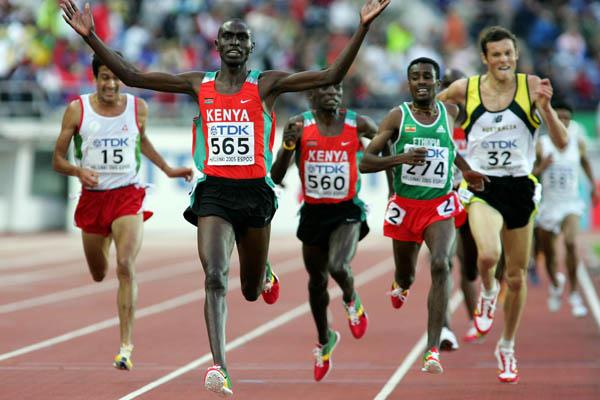 Benjamin Limo wins the men's 5000m (Getty Images)