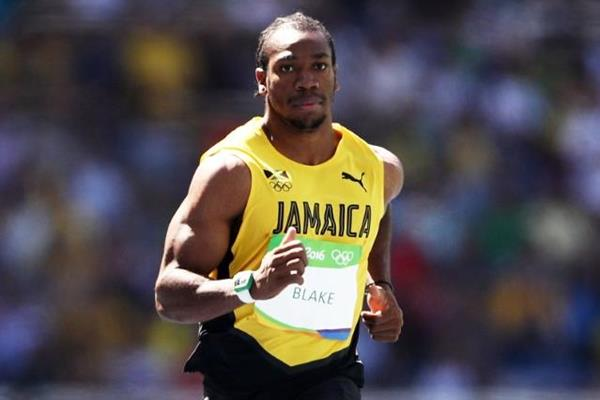 Yohan Blake in the 100m at the Rio 2016 Olympic Games (Getty Images)