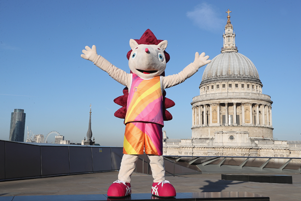 Hero the Hedgehog, mascot for the IAAF World Championships London 2017 (LOC)