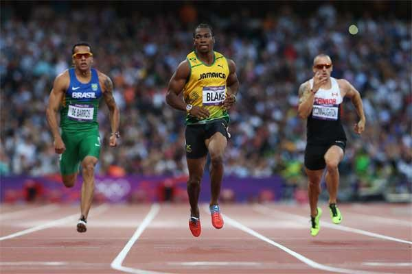 Jamaican sprinter Yohan Blake (Getty images)