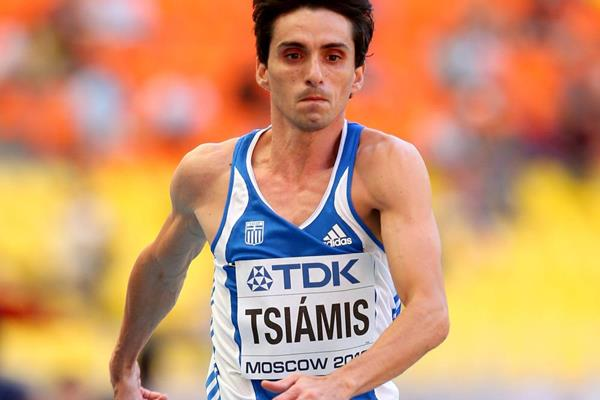 Greek triple jumper Dimitrios Tsiamis (Getty Images)