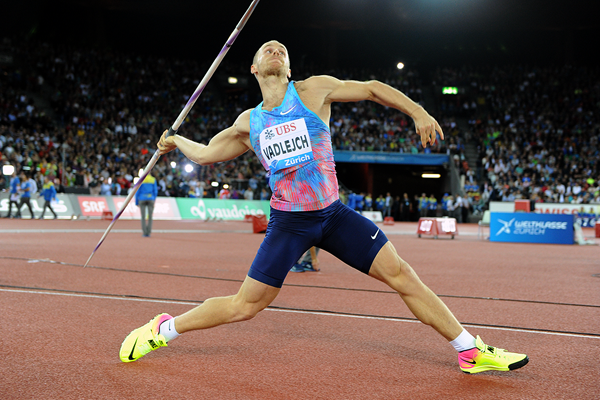 Jakub Vadlejch, winner of the javelin at the IAAF Diamond League final in Zurich (Jiro Mochizuki)