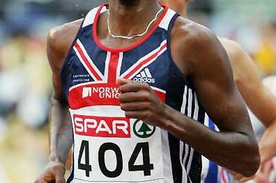 Mo Farah in the European Champs 5000m in Gothenburg (Getty Images)