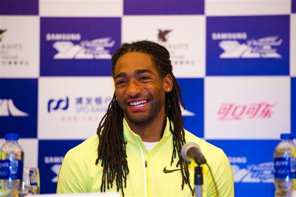 All smiles - Jason Richardson in Shanghai (Errol Anderson)