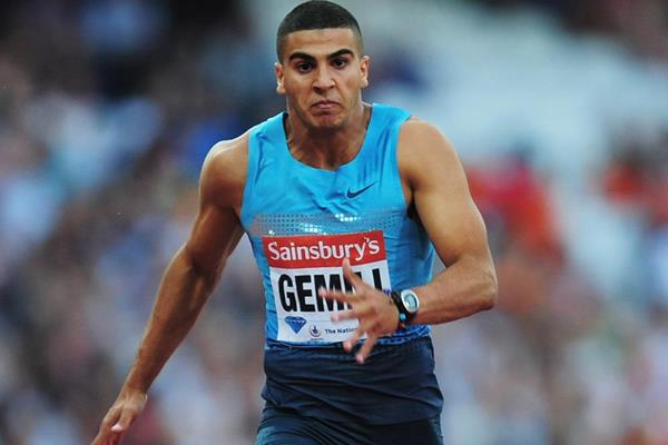 Adam Gemili in action at the IAAF Diamond League meeting in London (Getty Images)