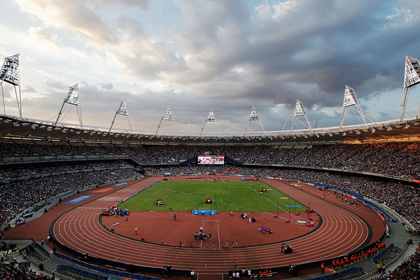 The London Olympic Stadium Getty Images
