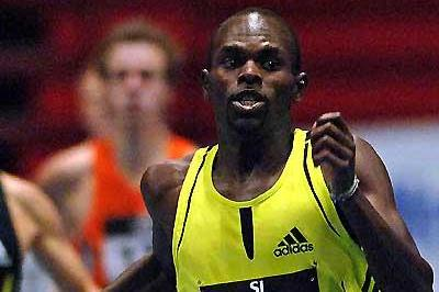 Wilfred Bungei wins at the GE Galan (Hasse Sjögren)