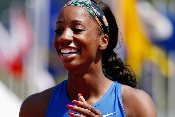 US sprint hurdler Keni Harrison (Getty Images)