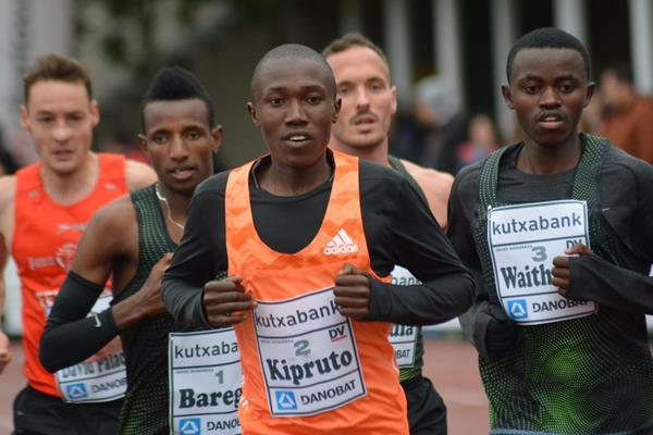 Rhonex Kipruto at the Cross Internacional Juan Muguerza in Elgoibar, Spain (Asociación ANOC)