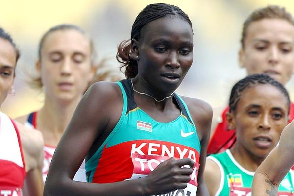 Viola Kibiwot of Kenya (Getty Images)