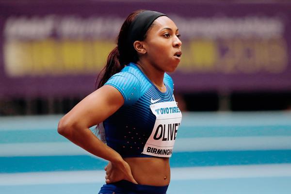 US sprinter Javianne Oliver (AFP / Getty Images)