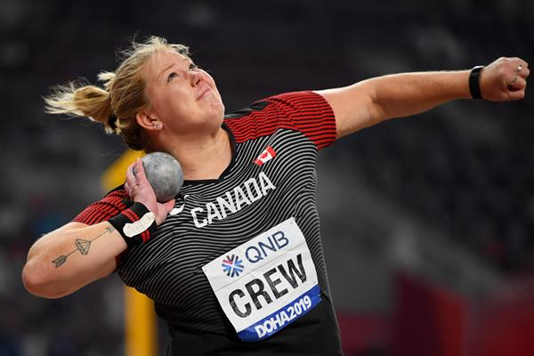 Canadian shot putter Brittany Crew (Getty Images)