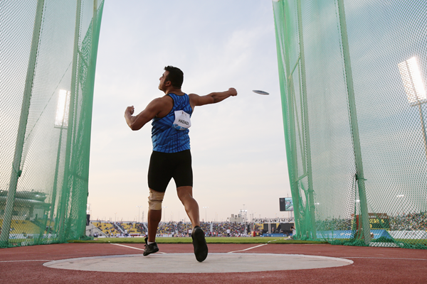 Iranian discus thrower Ehsan Hadadi (Getty Images)