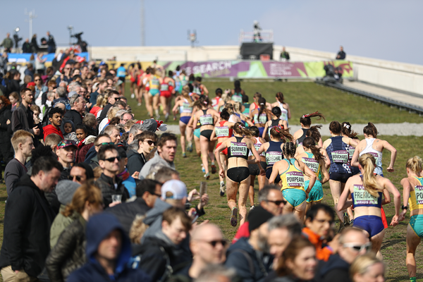 The start of the senior women's race at the IAAF/Mikkeller World Cross Country Championships Aarhus 2019 (Getty Images)