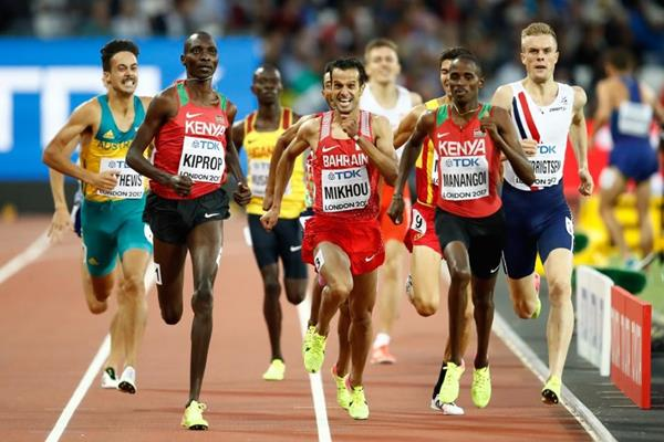 Semi-final of the men's 1500m at the IAAF World Championships London 2017 (Getty Images)