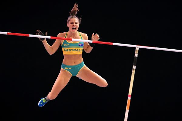Australian pole vaulter Nina Kennedy (Getty Images)