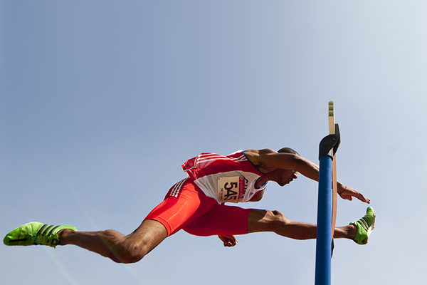 Sprint hurdler Orlando Ortega (AFP / Getty Images)