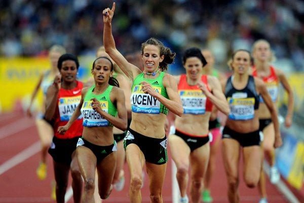 Morgan Uceny impresses again, this time at the Aviva Birmingham Grand Prix – Samsung Diamond League  (Mark Shearman)